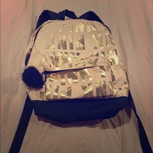 PINK mini backpack!